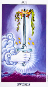 Heart-Given Connection Tarot Swords
