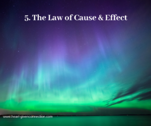 Law of Cause Effect