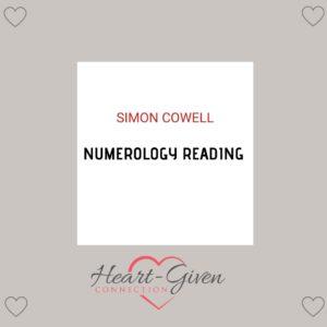 Simon Cowell - Numerology