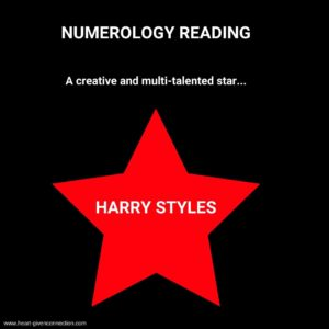 Harry Styles Numerology Reading